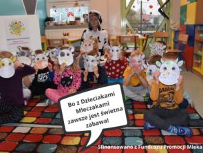 Mleczne spotkania w przedszkolach